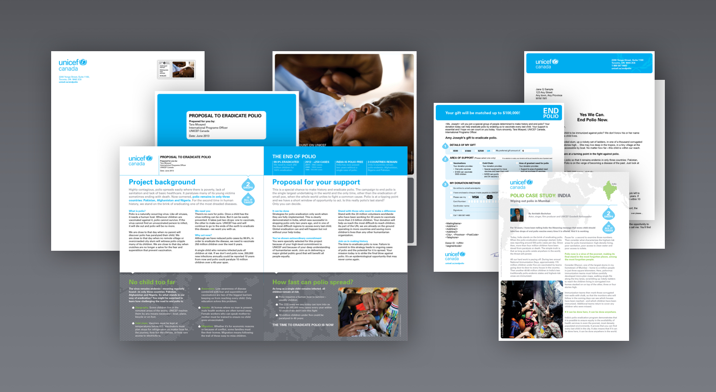 Unicef Donor Appeal Campaigns